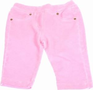 Różowe spodnie dziecięce So Twee By Miss Grant