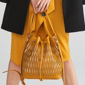 Żółta torebka Reserved