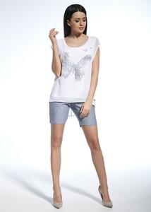 Bluzka Ennywear z krótkim rękawem w stylu casual