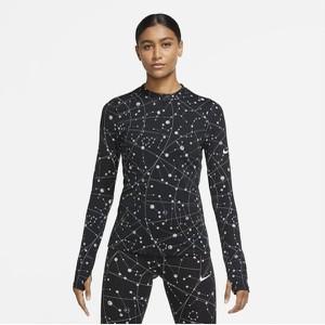 T-shirt Nike z długim rękawem z okrągłym dekoltem w sportowym stylu
