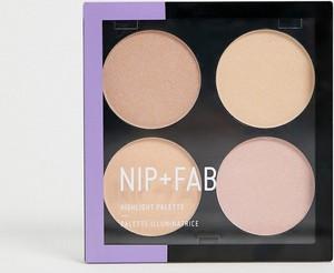 Nip + Fab NIP+FAB – Paleta rozświetlaczy-Wielokolorowy
