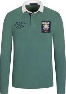 Zielona koszulka polo POLO RALPH LAUREN z bawełny