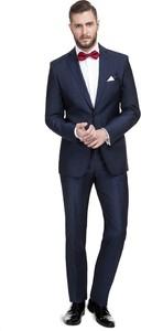 151c91c7cb6e6 garnitury męskie niebieskie - stylowo i modnie z Allani