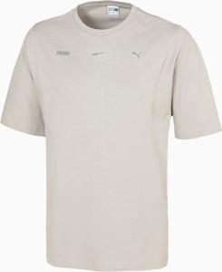 T-shirt Puma z krótkim rękawem z bawełny