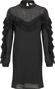 Sukienka Silvian Heach z długim rękawem mini
