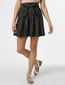Czarna spódnica Vila mini w stylu casual