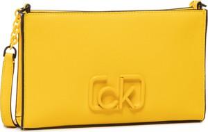Żółta torebka Calvin Klein mała
