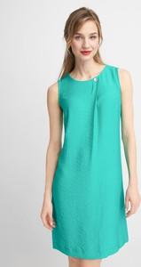 Zielona sukienka QUIOSQUE mini prosta