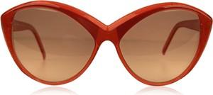 Czerwone okulary damskie Yves Saint Laurent
