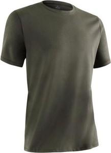 Brązowy t-shirt Domyos z bawełny