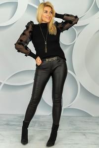 Czarna bluzka Made in Italy