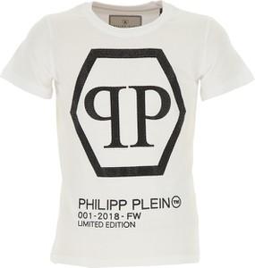 Koszulka dziecięca Philipp Plein z bawełny z krótkim rękawem