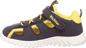 Buty dziecięce letnie Richter Shoes na rzepy ze skóry
