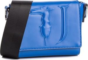 Niebieska torebka Trussardi Jeans w stylu casual