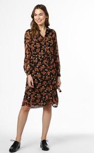 Sukienka Vero Moda z dekoltem w kształcie litery v w stylu casual z długim rękawem