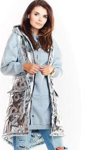 Płaszcz Awama z tkaniny