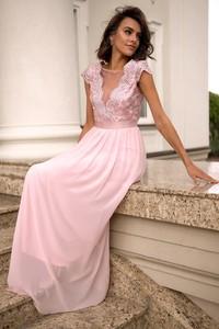 Sukienka Popatu z szyfonu