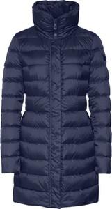 Granatowy płaszcz Peuterey