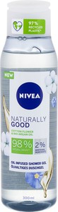 Nivea Naturally Good Cotton Flower Żel Pod Prysznic 300Ml