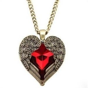 IZMAEL.eu Naszyjnik Angel Heart - Czerwony