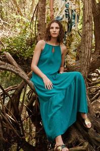 Sukienka ORSAY maxi z tkaniny