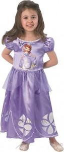 Fioletowa sukienka dziewczęca Disney