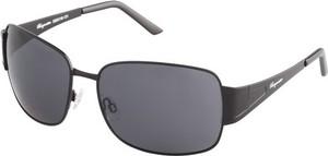 amazon.de Okulary przeciwsłoneczne Burgmeister dla mężczyzn, kolor: czarny