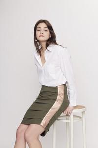 Zielona spódnica Seriously midi