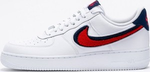 Nike Air Force 1 '07 LV8 White University Red Blue Void