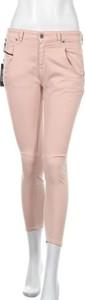 Różowe jeansy Diesel