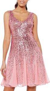 Sukienka noshame na ramiączkach mini rozkloszowana