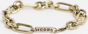 Icon Brand – Gruba bransoletka łańcuszkowa w kolorze polerowanego złota-Złoty