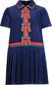 Sukienka dziewczęca Gucci z bawełny