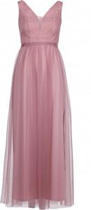 Sukienka VISSAVI bez rękawów z dekoltem w kształcie litery v maxi
