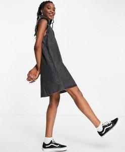 Czarna sukienka Pieces