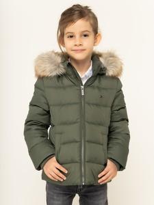 Zielona kurtka dziecięca Tommy Hilfiger