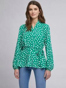 Zielona bluzka Dorothy Perkins