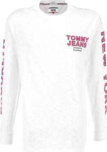 Koszulka z długim rękawem Tommy Jeans z długim rękawem w młodzieżowym stylu
