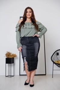 Spódnica tono.sklep.pl z jeansu