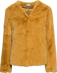 Żółta kurtka bonprix BODYFLIRT w stylu casual krótka