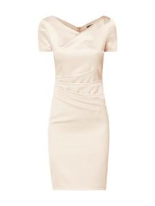 Sukienka Marie Noir mini z dekoltem woda