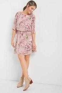 29a28a7a12 Sukienka ORSAY w stylu casual z okrągłym dekoltem z tkaniny