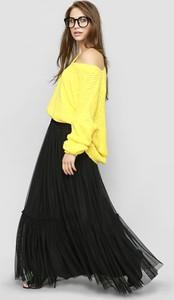 Żółta spódnica Freeshion z tiulu