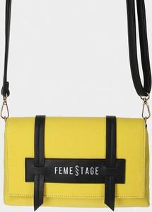 Żółta torebka Monnari średnia na ramię w młodzieżowym stylu