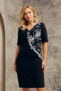 Sukienka Risca ołówkowa z tkaniny