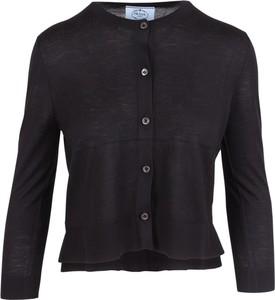 Czarny sweter Prada
