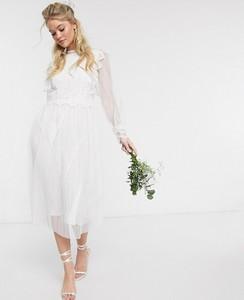 Sukienka Y.A.S maxi z długim rękawem