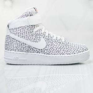 Trampki Nike sznurowane na platformie