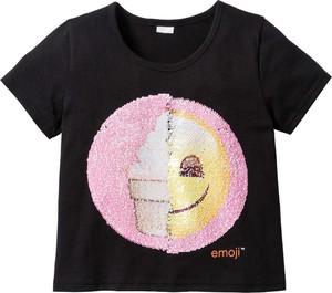 Bluzka dziecięca bonprix emoji