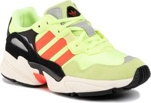 Zielone buty sportowe dziecięce Adidas